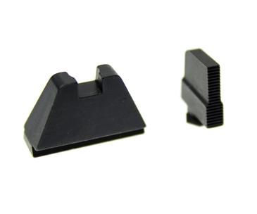 "Ameriglo: Glock Extra Tall Suppressor Sight Set: Black (.407"" Front/.500"" Rear) GL-507"