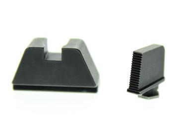 "Ameriglo: Glock Suppressor Sight Set (Black) .350"" Front/.429"" Rear (MOS Height) GL-470"