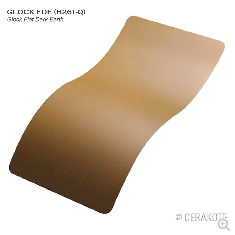 Cerakote Glock Flat Dark Earth FDE