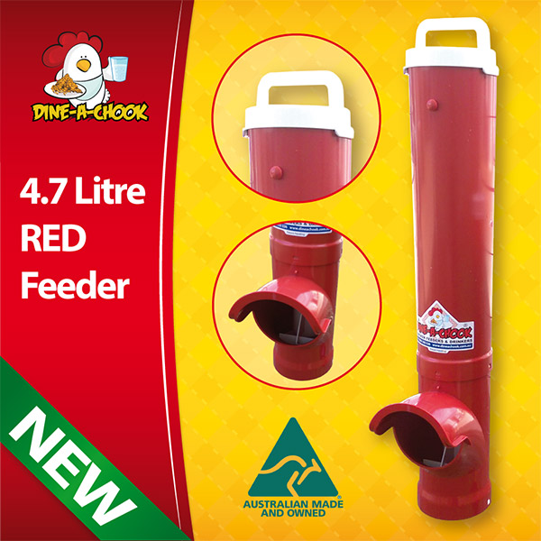 JOLLY RED CHICKEN FEEDER