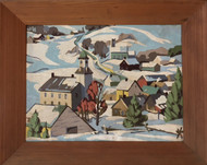 Vintage Winter Painting