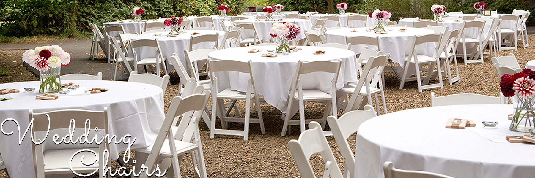 Folding Tables Chairs Chiavari