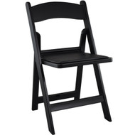 Wedding Chairs | Black Resin Folding Chairs