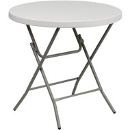 Plastic Folding Tables | Cocktail Table | Round Folding Table