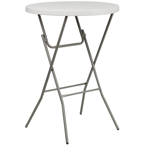 Plastic Folding Tables | Cocktail Table | Round Pub Table