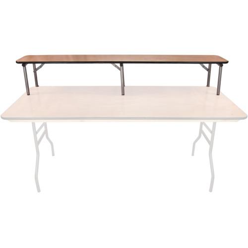 12 Quot X 72 Quot Wood Banquet Table Bar Riser 6 Ft Folding Tables