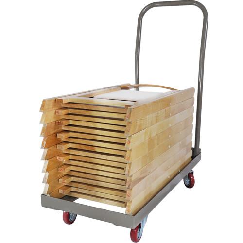 Superb Folding Chair Cart | Folding Chair Dolly | Folding Chairs