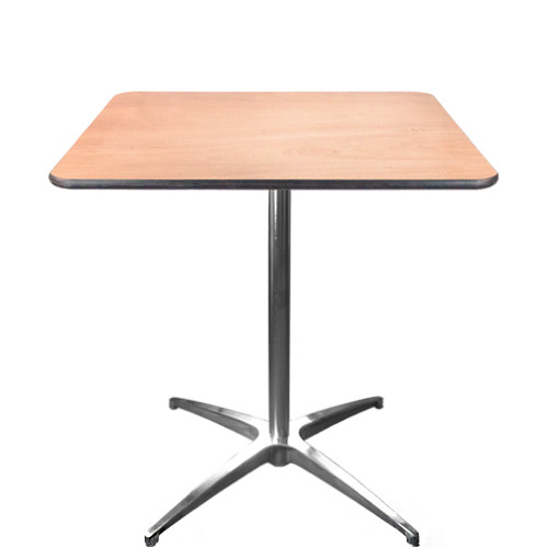 30 Inch Square High Cocktail Tables Pub Bar Tables