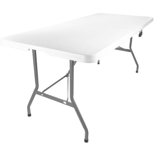 30 x 96 bi fold plastic folding banquet table 8 ft for 10 foot folding table