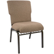 "Church Chairs For Sale | 21"" Mixed Tan Church Chair"