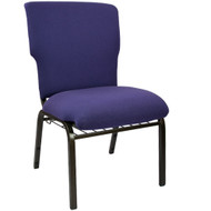 "Church Chairs For Sale | 21"" Eggplant Church Chair"