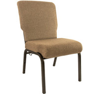 "Church Chairs For Sale | 20.5"" Mixed Tan Church Chair"