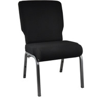 "Church Chairs For Sale | 20.5"" Black Church Chair"