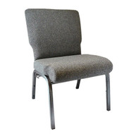 "Church Chairs For Sale | 20.5"" Charcoal Gray Church Chair"
