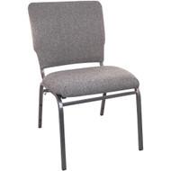 "Church Chairs For Sale | 18.5"" Charcoal Gray Multiuse Church Chair"