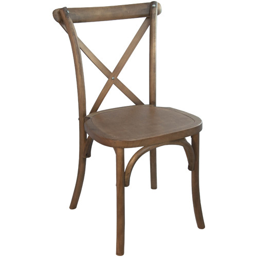 X Back Chair Light Brown Cross Back Chairs