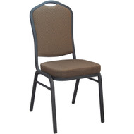 Banquet Chairs | Brown Pattern Crown Back