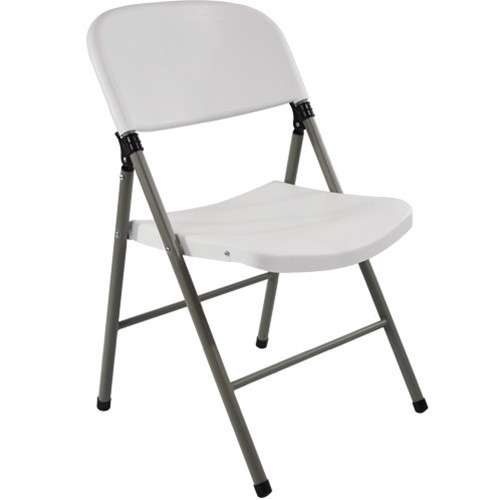 Oversized White Plastic Folding Chairs