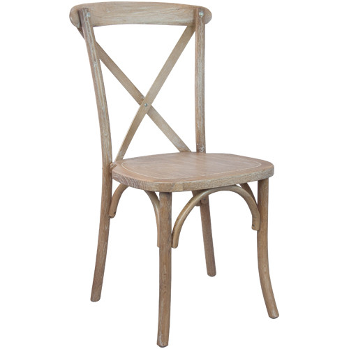Awesome X Back Chair | Driftwood | Cross Back Chairs