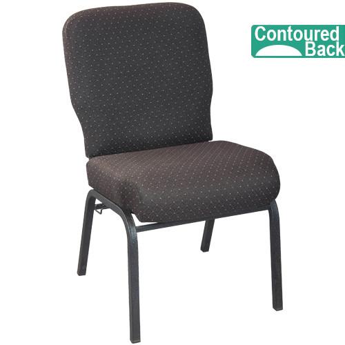 signature elite walnut church chair   church chairs for sale