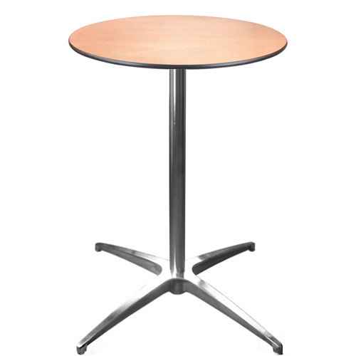 Superieur Cocktail Table | 24 Inch Round Cafe Tables | Pub Tables