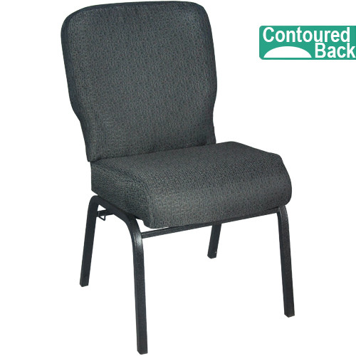 signature elite patterned black church chair   church chairs for sale