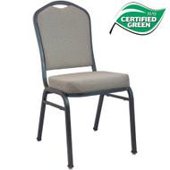 Banquet Chairs | Premium Tan Speckle Crown Back