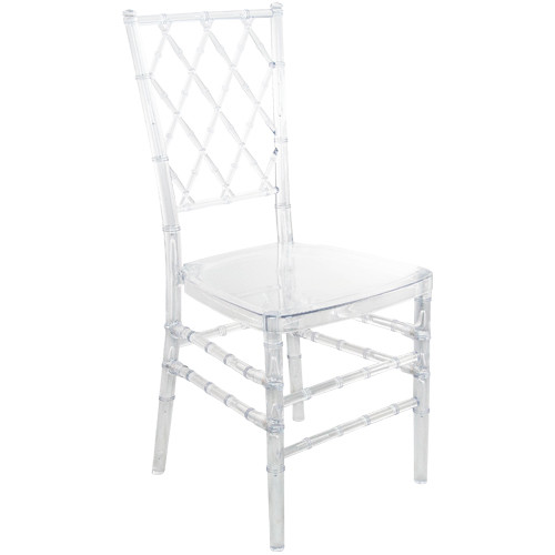 Clear Diamond Resin Chiavari Chair | Chiavari Chairs For Sale