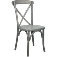 X-Back Chair | Grey | Cross Back Chairs