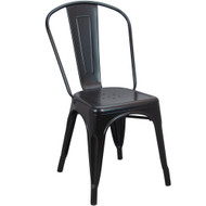 Tolix Chair | Black Finish | Stackable Chair
