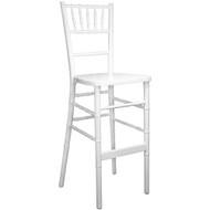 White Chiavari Bar Stools [WDCHIBAR-White]