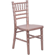 Kids Rose Gold Wood Chiavari Chair [KID-WDCHI-RoseGold]