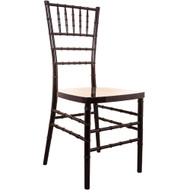 Mahogany Resin Chiavari Chair | Chiavari Chairs For Sale