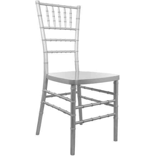 Silver Resin Chiavari Chair | Chiavari Chairs For Sale