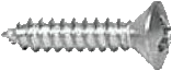 1/2 Stainless Steel Phillips Head Screw