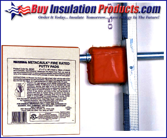Fire-rated wall electrical penetration