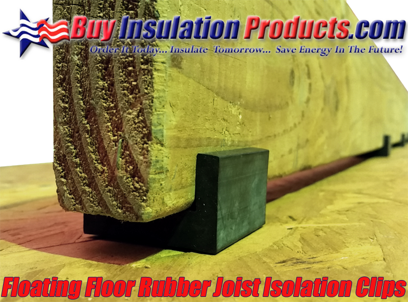 Floating Floor Rubber Joist Isolation Clip Buy