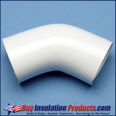 PVC 45 Deg Elbow Cover