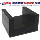 Floating Floor Rubber Joist Isolation Clip
