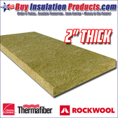 "2"" Thick 8# Mineral Wool Acoustical Board"