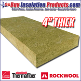 "4"" Thick 4# Mineral Wool Acoustical Board"