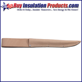 "Leather Knife Sheath for up to 9"" Blades"