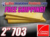 "Owens Corning 2"" 703 Fiberglass Acoustic Board (FREE SHIPPING)"