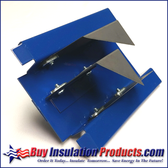 Blue Duct Board Tool End Cut Off - 4 in 1