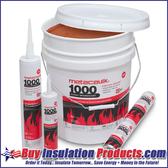 MetaCaulk 1000 Intumescent Firestopping Sealant (10.3 oz Tube)