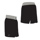 Nike Boxing Short - Black / Pewter