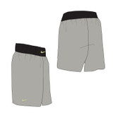 Nike Boxing Short - Pewter / Black