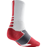 Nike Hyperelite Basketball Crew - White / Varsity Red
