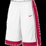 Nike National Short - White/Scarlet