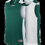 Nike League Reversible Tank - Dark Green / White